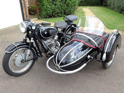 Lot 26-1960 BMW R69 Combination