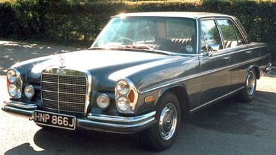 Lot 92 - 1971 Mercedes-Benz 280 SE 3.5 Saloon