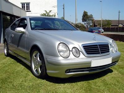 Lot 55 - 2002 Mercedes-Benz CLK 55 AMG
