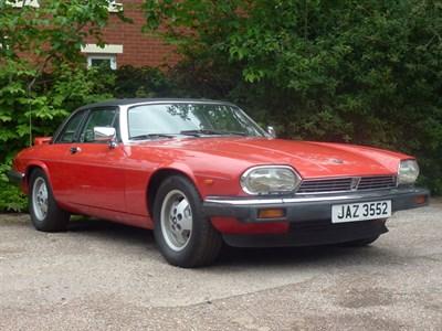 Lot 82 - 1986 Jaguar XJ-SC 5.3
