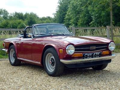 Lot 67 - 1972 Triumph TR6