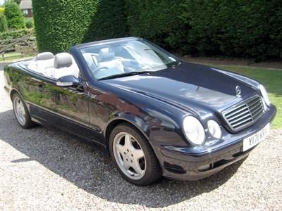 Lot 77 - 2001 Mercedes-Benz CLK 320 Convertible
