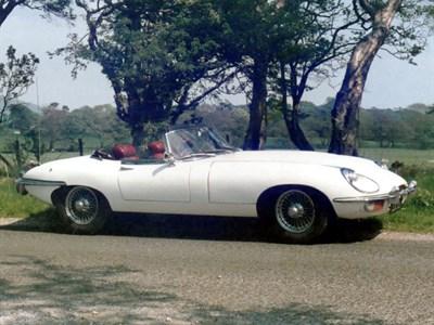 Lot 34 - 1971 Jaguar E-Type 4.2 Roadster