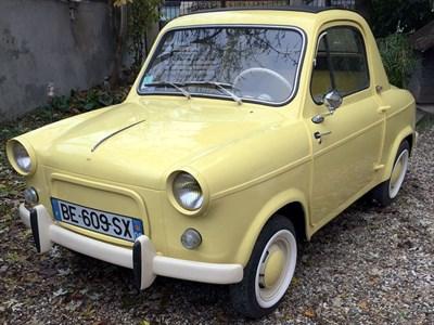 Lot 45-1958 Vespa 400 Cabriolet