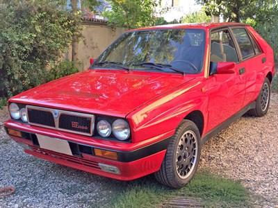 Lot 44-1988 Lancia Delta HF Integrale