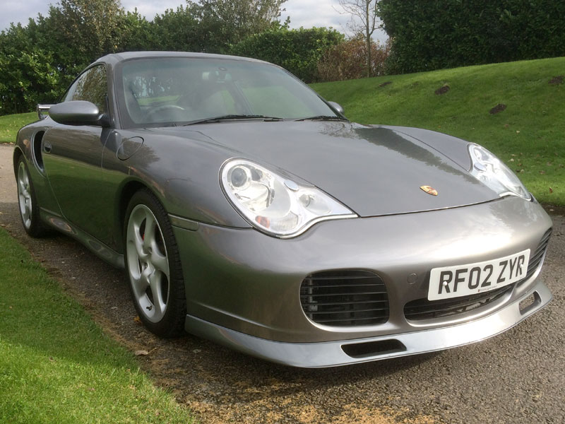 Lot 53-2002 Porsche 911 Turbo