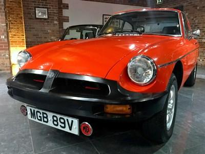 Lot 25-1980 MG B GT