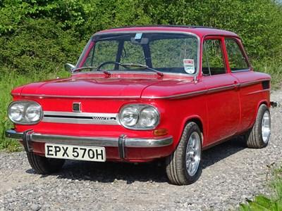 Lot 23-1969 NSU 1200 TT