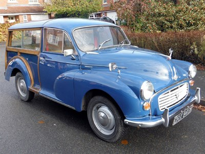 Lot 35-1971 Morris Minor 1000 Traveller