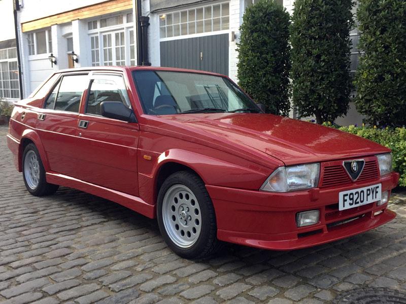 Lot 62-1988 Alfa Romeo 75 3.0 V6 Veloce