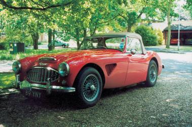 Lot 65-1959 Austin-Healey 3000 MKI