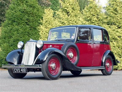 Lot 20-1935 Armstrong Siddeley Fourteen Saloon