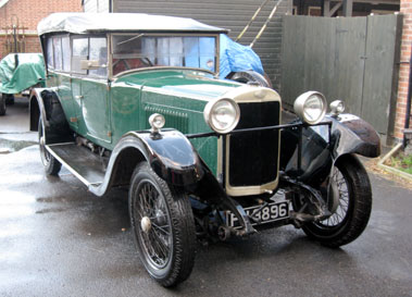 Lot 31-1929 Sunbeam 20.9 Tourer