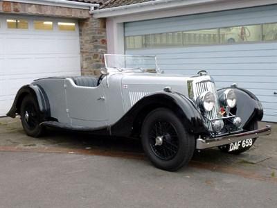 Lot 57-1937 Aston Martin 2 Litre 15/98 Four-Seater Tourer