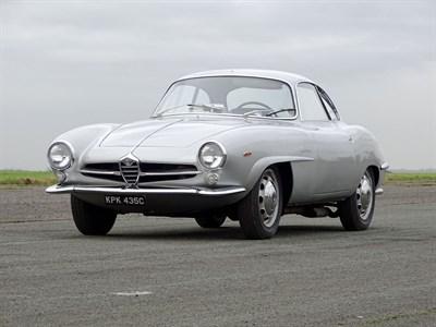 Lot 37-1965 Alfa Romeo Giulia Sprint Speciale
