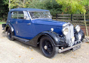 Lot 18-1936 Lanchester Eighteen Wingham Cabriolet
