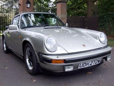 Lot 11 - 1981 Porsche 911 SC Targa