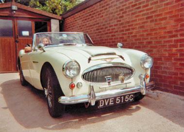 Lot 30-1965 Austin-Healey 3000 MKII