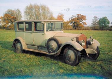 Lot 23-1928 Rolls-Royce Phantom I Limousine