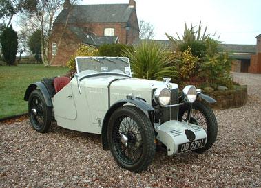Lot 74-1933 MG J3 Midget Supercharged Sports