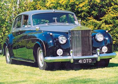 Lot 1-1958 Bentley S1 Saloon