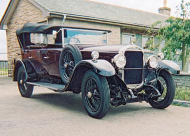 Lot 53-1927 Sunbeam 25hp Four Seat Open Tourer