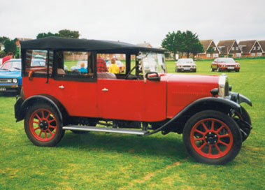 Lot 70-1929 Swift P Type Tourer