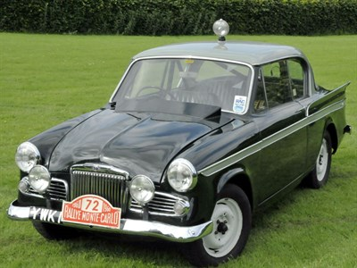 Lot 50-1959 Sunbeam Rapier Series III Works Rally Car