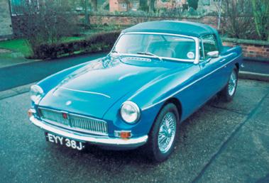 Lot 68-1968 MG C Roadster