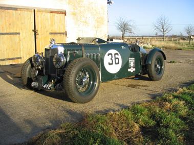 Lot 67-1937 MG TA Q Type Replica