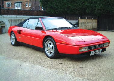 Lot 29-1993 Ferrari Mondial T Convertible