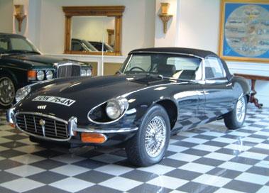 Lot 69-1974 Jaguar E-Type V12 Roadster Commemorative Edition