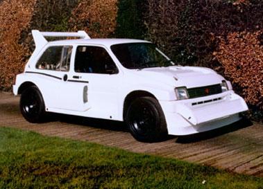 Lot 28-1987 MG Metro 6R4 International