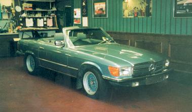 Lot 45-1985 Mercedes-Benz 280 SL
