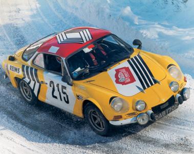 Lot 55-1967 Alpine Renault A110 Rally Car