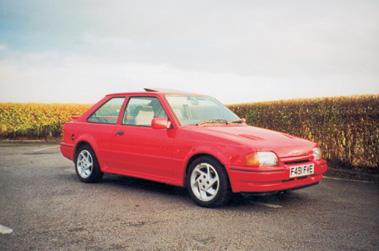 Lot 6-1989 Ford Escort RS 1600 Turbo