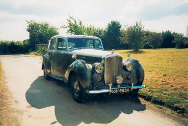 Lot 75-1949 Bentley MK VI Saloon