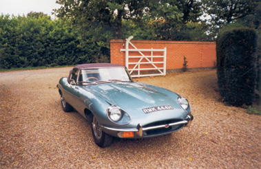 Lot 27-1970 Jaguar E-Type 4.2 Roadster