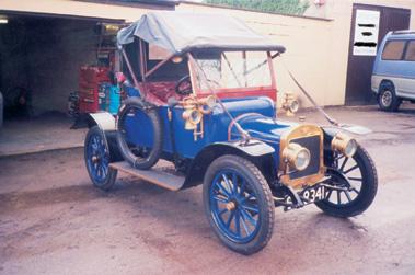 Lot 25-1911 Austin 10/4 Melbourne Tourer