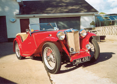Lot 37-1947 MG TC