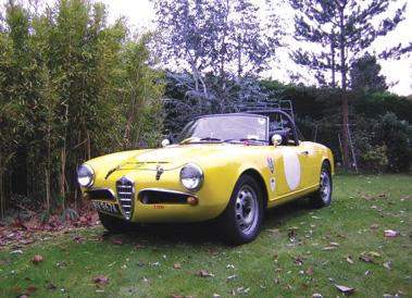 Lot 63-1963 Alfa Romeo Giulia 1600 Spider