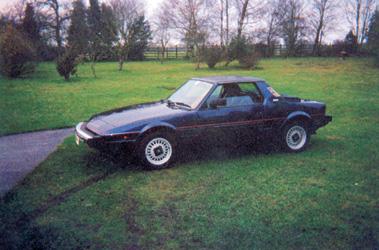 Lot 3-1989 Fiat X1/9 Gran Finale