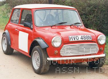 Lot 51-1975 Morris Mini 1330 Saloon