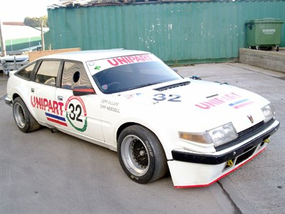 Lot 26 - 1980 Rover SD1 V8S Group 2 Race Car