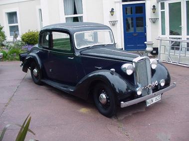 Lot 76-1938 Lanchester Fourteen Doctors Coupe