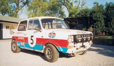 Lot 84-1969 BL Mini Clubman