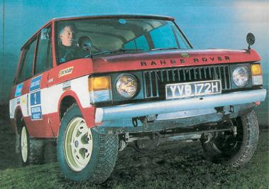 Lot 87-1970 Range Rover Velar Prototype