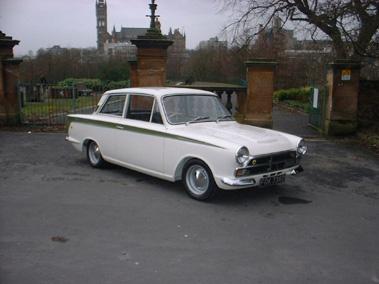 Lot 89-1966 Ford Cortina Lotus
