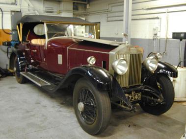 Lot 90-1929 Rolls-Royce Phantom I Tourer