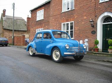 Lot 93-1956 Renault 4CV